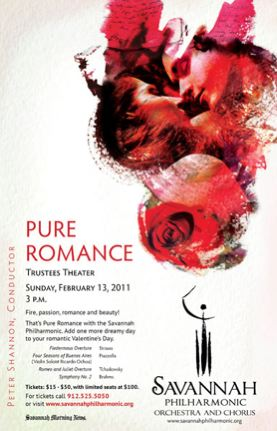 Savannah Philharmonic To Perform Pure Romance Robmark
